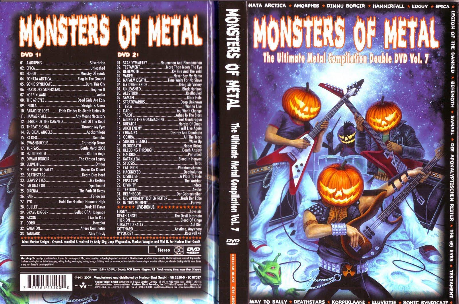 monters of metal