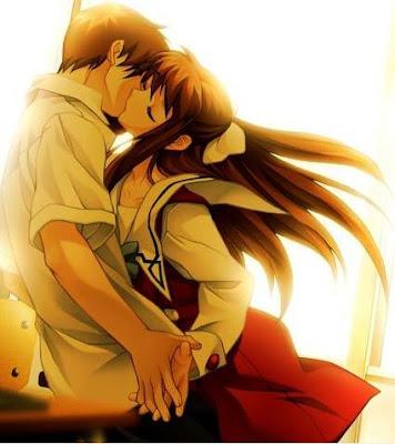 imagenes de amor anime. amor anime. ser por amor,