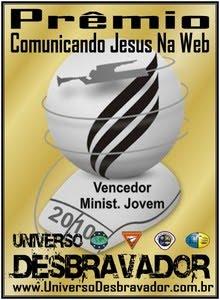 PRÊMIO COMUNICANDO JESUS NA WEB - EDIÇÃO 2010