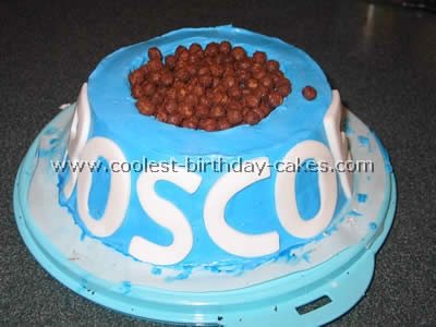 Dog Design Cake Recipes : Julie s 50th Birthday: The Birthday Cake