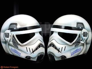 casco soldado de asalto, motocicleta, starwars