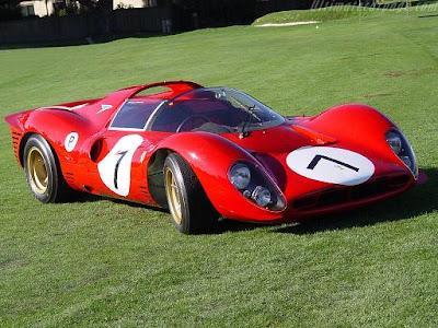 Ferrari, 330 P4, 1967, Autoleyendas