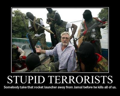 cartel, desmotivador, stupid terrorist, terroristas estupidos