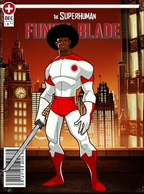 El Magnifico en Funky Blade