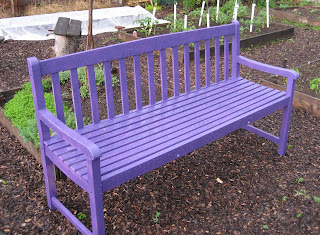 Home Of The Purple Bench