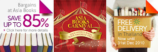 Asia Books Carnival Sale