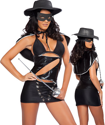 Famous Zorro CostumesZorro Costume For Women
