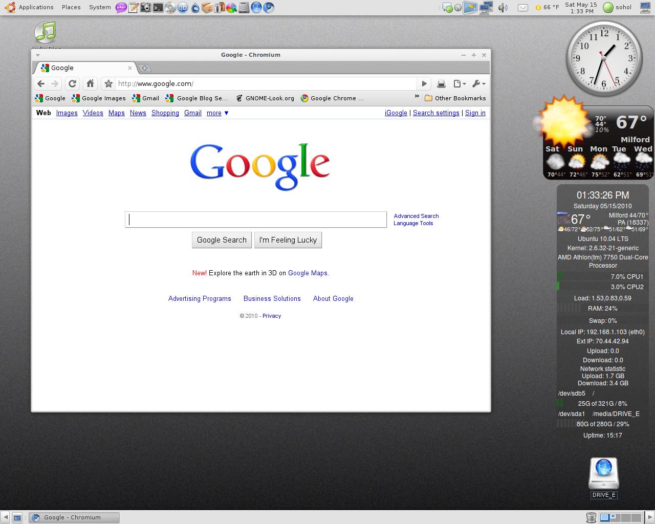 My World Thru A Web Browser: May 2010