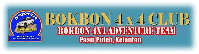 Bokbon 4x4 Pasir Puteh Adventure Team