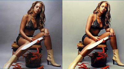 Beyoncé photoshop