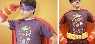 Nerd Camisa Photoshop Filter Heroes