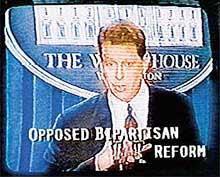 Subliminar campanha Bush