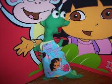 Isa the Iguana Pillow Doll