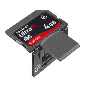 SD USB combo sandisk