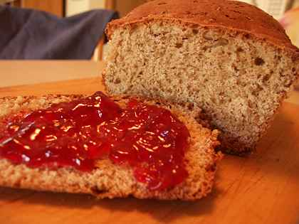 Homemade 7 grain bread camping with suzi put one cup of water and cup of 7 grain cereal in saucepan bring to a boil and simmer for about 5 minutes it should be the consistence of a thin gruel ccuart Choice Image