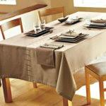 Toalha de mesa bicolor