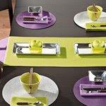 Toalha de mesa comprida