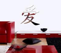 Autocolante de parede decorativo, espelhado