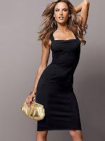 Com vestido preto, nunca me comprometo
