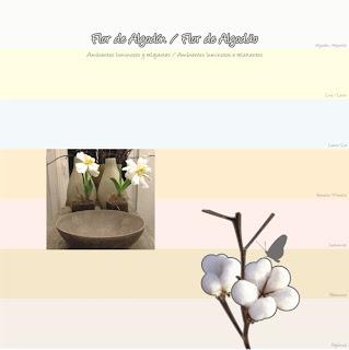 Sempre elegante o branco nunca deixou de ser encantador...os seus tons surpreendem dentro do estilo Flor de Algodão para criar ambientes luminosos e relaxantes
