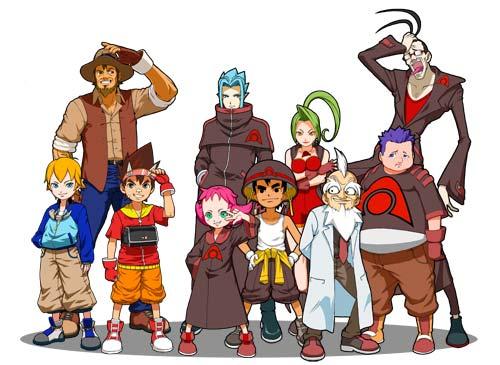 Mucha de la animación inspirada en el anime utiliza este uso inconsistente de ropas y volúmenes.