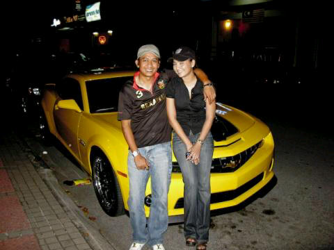 Jejai, Fasha dan Transformer Bumble Bee