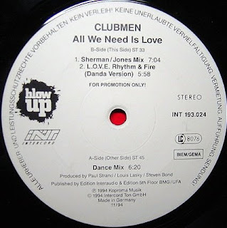 Clubmen - All We Need Is Love (By Lauro)
