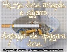 NÃO FUME, PELA SUA SAÚDE