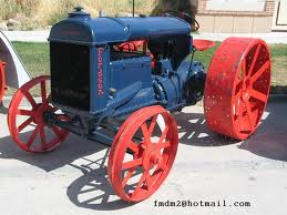 tractor antiguo