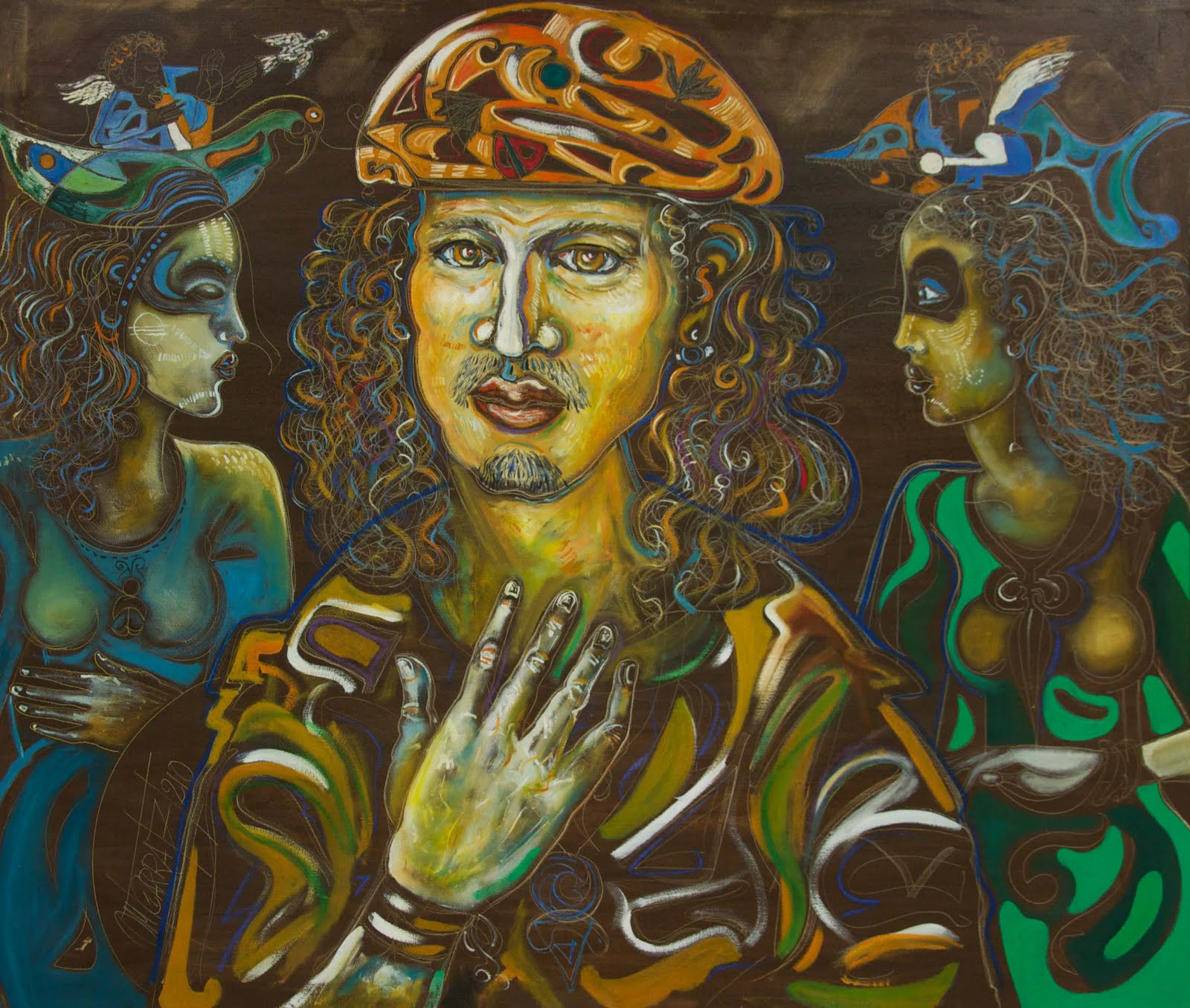 Arte Rastafaris ( pinturas y dibujos mios)