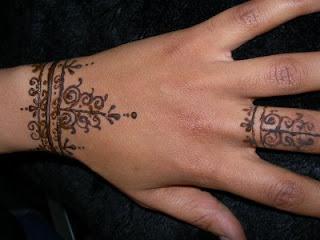 Amina Designs Mehandi Henna Bracelet Mehndi Design