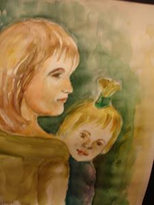 Mamma e figlioletta