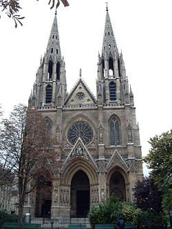 Saint Clotilde Basilica, Paris