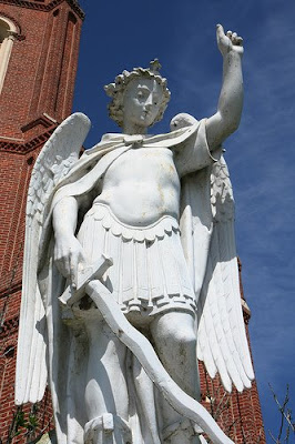Saint Michael's Statue in St. Michael The Archangel Catholic Church