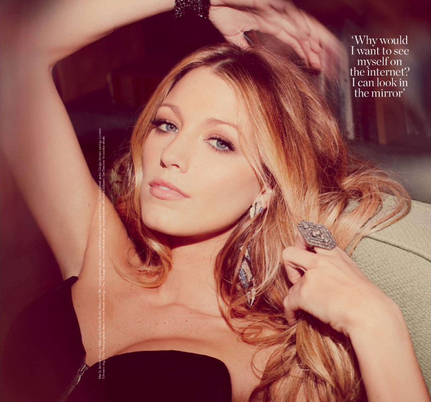 Blake Lively @ Marie Claire - UK, October 2010