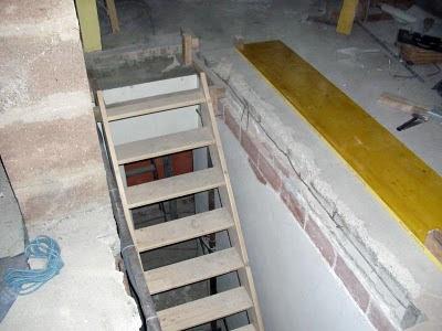 r novation de ma villa place l 39 escalier. Black Bedroom Furniture Sets. Home Design Ideas