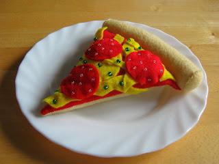 une ptite part de pizza