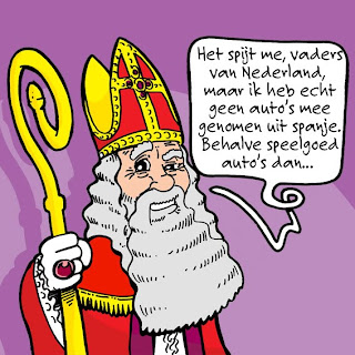 Sinterklaas Cartoon