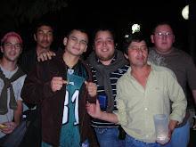 Con amigos de Margarita en Sunchales.
