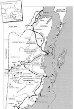Belize Hiway Map