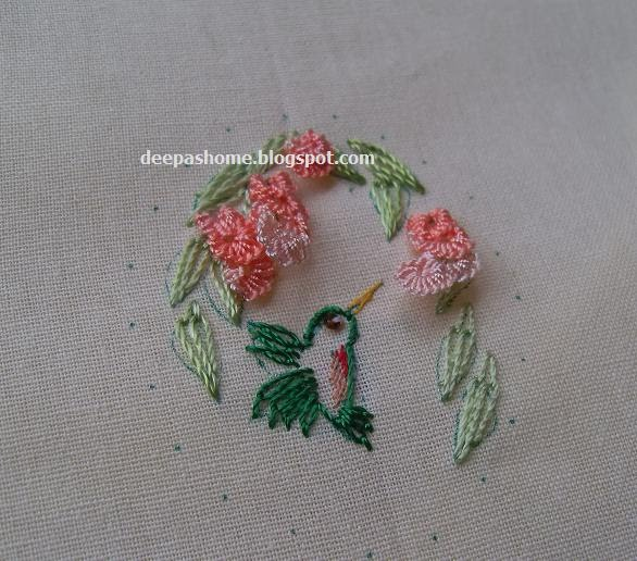 Brazilian Embroidery Tutorials http://deepashome.blogspot.com/2010/08/brazilian-embroidery-miniatures-work-in.html