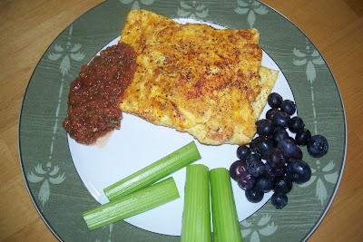 Eggs, Paprika and Salsa
