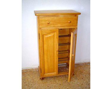 Imagenes orientativas muebles madera maciza for Zapatero madera maciza