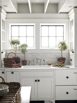 Estilo rustico cocinas blancas - Cocinas rusticas blancas ...
