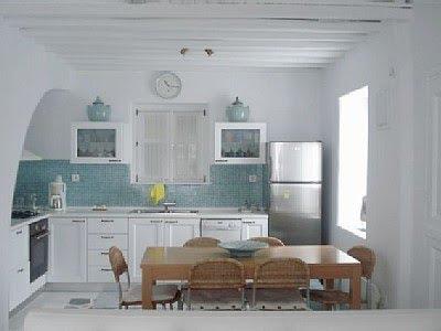 Estilo rustico viaje a las cocinas griegas for Decoracion casa griega