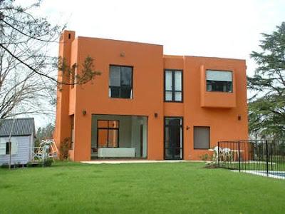 Estilo rustico fachadas rusticas modernas - Colores de fachadas de casas de campo ...