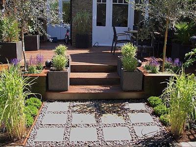 Casas minimalistas y modernas enero 2009 for Diseno de jardin moderno