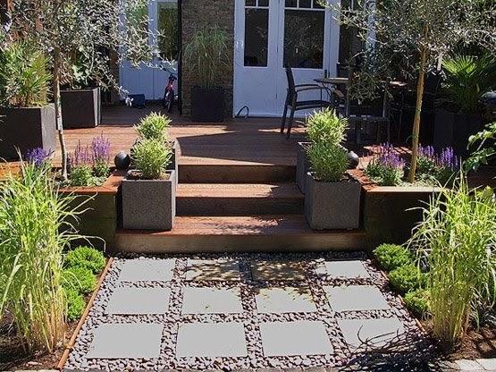 Jardines modernos for Jardines de patios modernos