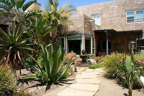 Estilo rustico jardines rusticos pueblo style for Jardines exteriores