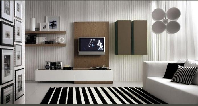 Deco today muebles para livings modernos for Mobiliario moderno